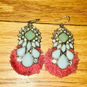 Chandelier earrings from Banana Republic